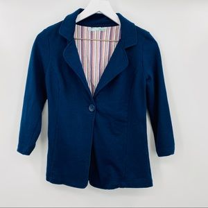 Maurices 3/4 Sleeve Ruched Blazer Size Small
